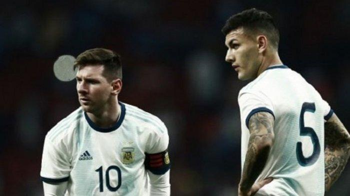 Kapten Timnas Argentina Lionel Messi Heran Dikalahkan Timnas Venezuela di Laga Persahabatan