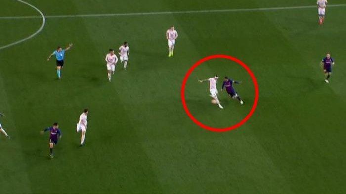 Video Barca Vs Man United di Liga Champions, Lionel Messi Tipu Phil Jones Tiga Kali