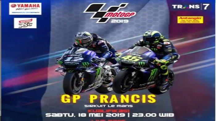 LINK LIVE STREAMING Kualifikasi MotoGP Prancis 2019 di Trans 7, Rossi atau Marquez Pole Position