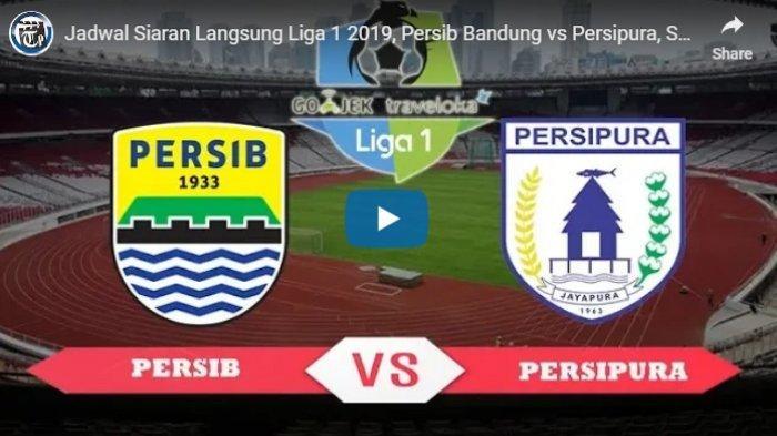 2 LINK LIVE STREAMING INDOSIAR Persib Bandung vs Persipura Shopee Liga 1 2019, Prediksi Pemain