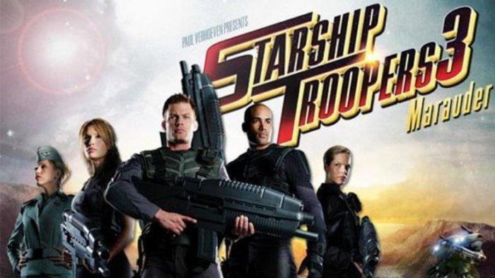 Live Streaming Trans TV, Sinopsis Film Starship Troopers 3 Marauder Bioskop Trans TV Jam 23.00 WIB