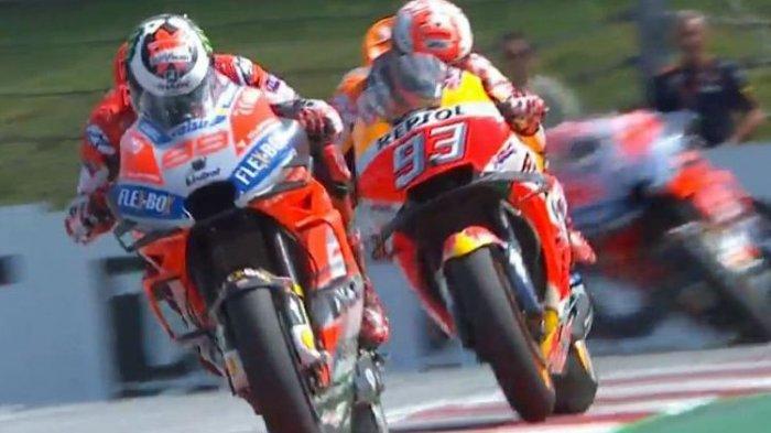 Kualifikasi MotoGP San Marino 2018 Italia - Jorge Lorenzo Bawa Ducati Raih Pole Position