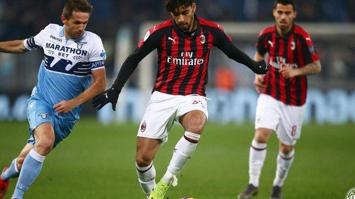 Leg Pertama Semifinal Coppa Italia - AC Milan Versus Lazio Hanya Berakhir Tanpa Gol