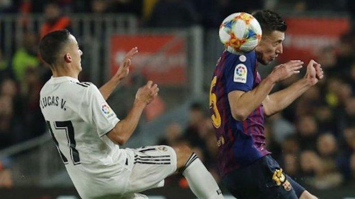 Leg Pertama Semifinal Copa Del Rey, Duel El Clasico Barcelona Vs Real Madrid Berakhir Seri 1-1