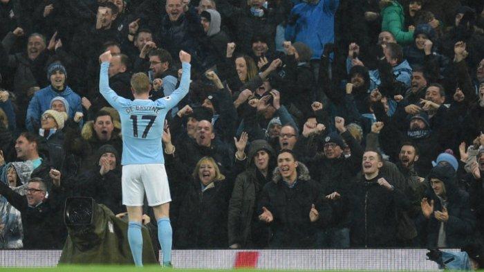 Manchester City Sepakat Perpanjang Kontrak Kevin De Bruyne