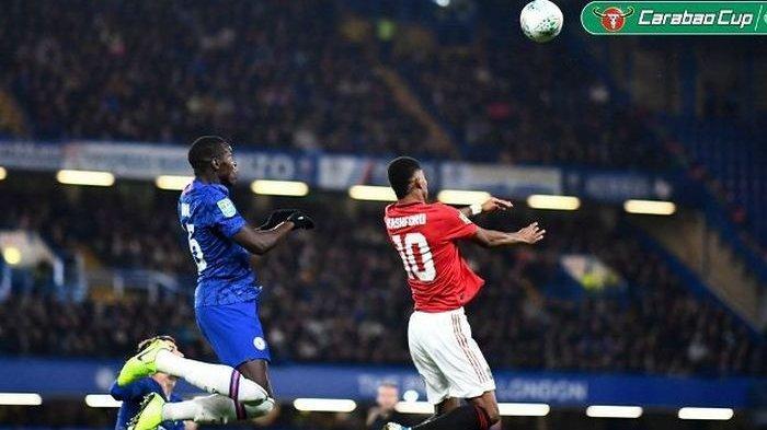 Dua Gol Marcus Rasford ke Gawang Chelsea, Bawa Manchester United ke Babak 8 Besar Piala Liga Inggris