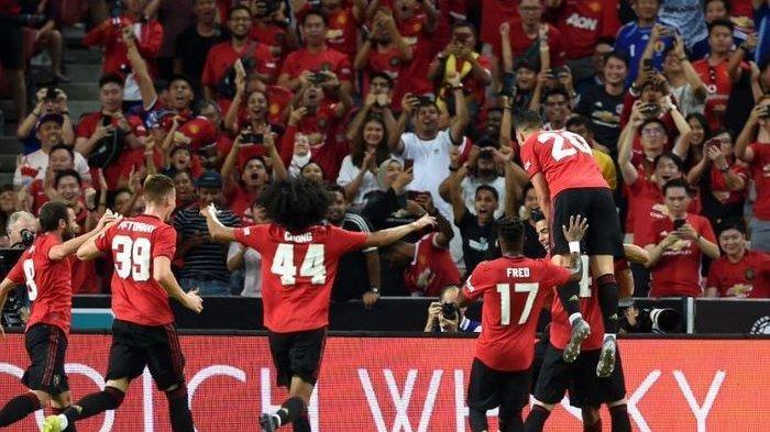 Jelang Kontra Chelsea di Liga Inggris, Hari Ini Manchester United Versus AC MIlan di ICC 2019