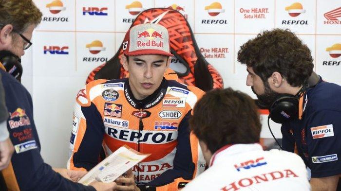 Jelang MotoGP Thailand 2018, Marc Marquez Akui Performa Mesin Ducati Jadi Ancaman