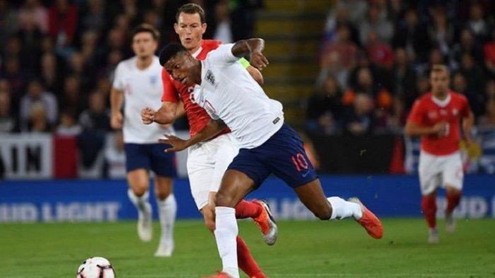 Gol Semata Wayang Marcus Rasford Bawa Kemenangan Timnas Inggris Kontra Swiss