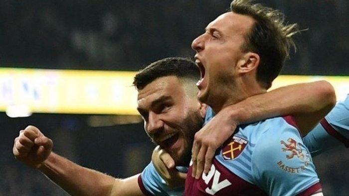 Miliki Gol Penalti Terbanyak, Gelandang West Ham Dekati Rekor Lampard dan Gerrard di Liga Inggris