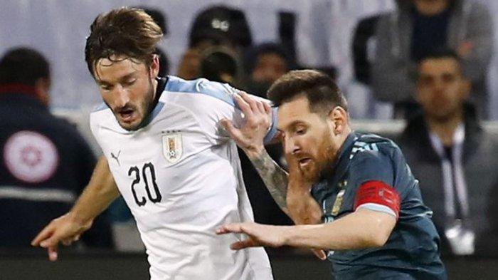 Hasil Argentina vs Uruguay 2-0, Messi Cetak Gol Nonton Live Streaming Babak ke-2 Kualifikasi PD 2022