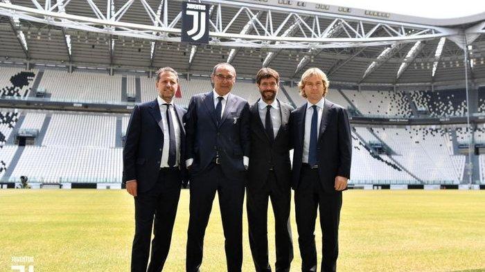 Maurizio Sarri Tak Hadir Saat Juventus Berlaga di Dua Pertandingan Serie A Liga Italia 2019-2020
