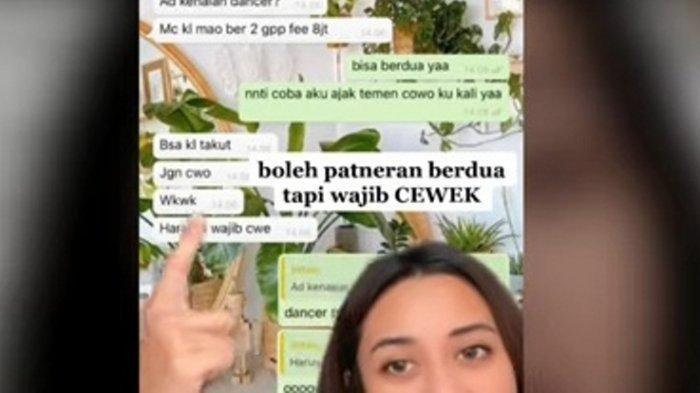 Video Viral Pengakuan MC Dapat Tawaran di Acara Sosialita Jakarta dengan Tumbal Brondong