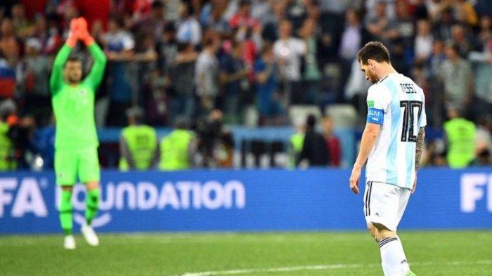 Grup D Piala Dunia 2018 Rusia: Nigeria Menang Atas Islandia, Messi Cs Terancam Angkat Koper