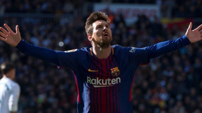Lionel Messi Saat Laga El Clasico Ternyata Tak Banyak Bergerak