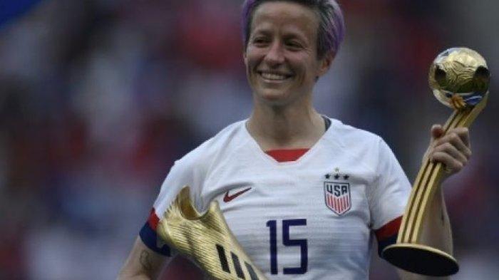 Kalahkan Belanda 2 Gol Tanpa Balas, Amerika Serikat Juara Piala Dunia Sepakbola Wanita 2019