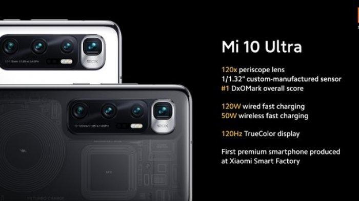 Xiaomi Rilis Mi 10 Ultra dan Redmi K30 Ultra, Simak Bocoran Spesifikasinya