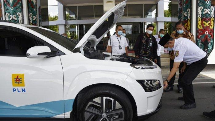 Sekdaprov Kalteng Tertarik Mobil Listrik Memungkinkan Dipakai di Lingkungan Pemprov Kalteng