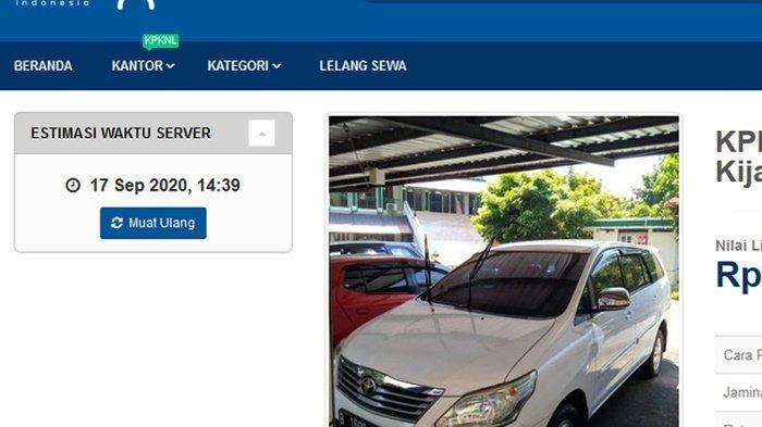 Harga Mobil Cuma Mulai Rp 63 Juta, Inilah Daftar Terbaru Lelang Mobil Sitaan Ditjen Pajak