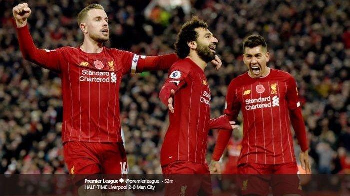 Menang 3-1, Liverpool Geser Manchester City di Puncak Klasemen Liga Inggris Pekan ke-12