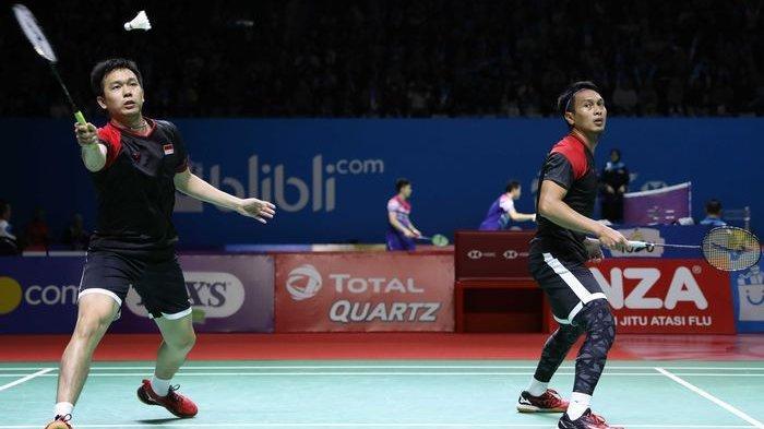 Derbi Final Indonesia Open 2019 akan Terjadi Bila 2 Pasangan Ganda Putra Menang di Semifinal