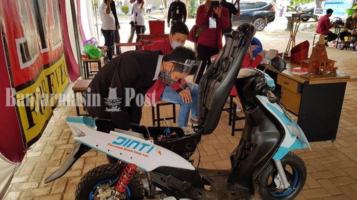 Mahasiswa Perguruan Tinggi Tala Bikin Motor Listrik, Ini Keunggulannya
