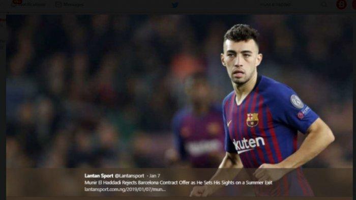 Bila Munir Hengkang dari Barcelona, Luis Suarez Bakal Berjuang Sendirian