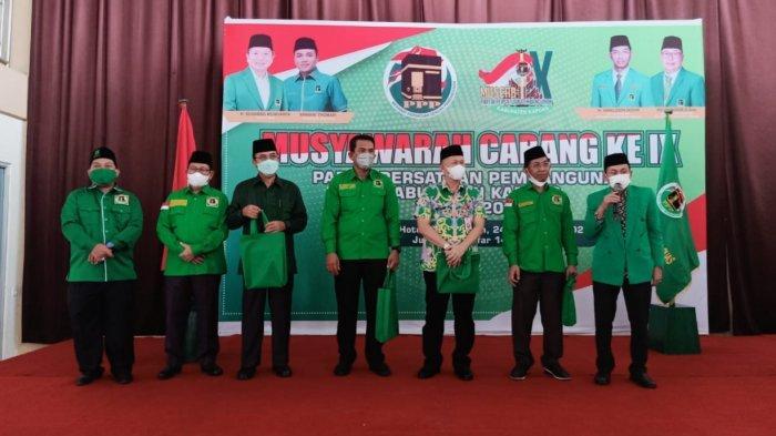 DPC PPP Kabupaten Kapuas Gelar Musyawarah Cabang Ke-IX