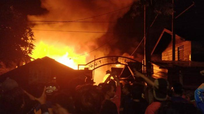 Puluhan Rumah Terbakar di Pelambuan Banjarmasin Barat Kalsel, Hadri Tidak Sempat Selamatkan Harta