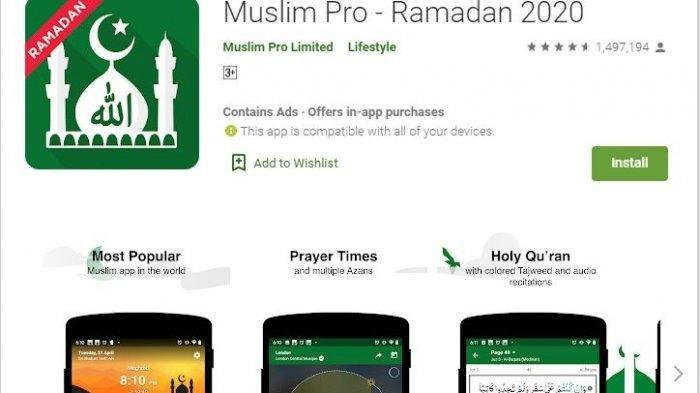 Pas Buat Ramadan 2021, Aplikasi Muslim Pro Ada Fitur Tracking Dzikir & Audio Terjemahan Al Quran