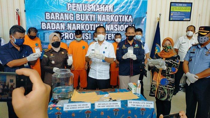 Narkoba di Kalteng, Badan Narkotika Nasional Bongkar Pengedar Sabu dan Ganja Jaringan Sampit-Kapuas