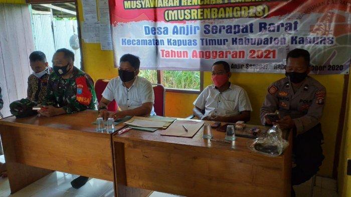 Musrenbangdes di Kecamatan Kapuas Timur, Ini yang Diharapkan Camat