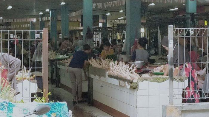 Jauh dari Sungai, Pedagang Ikan Enggan Menempati Pasar Rakyat Mentaya Sampit Kalteng