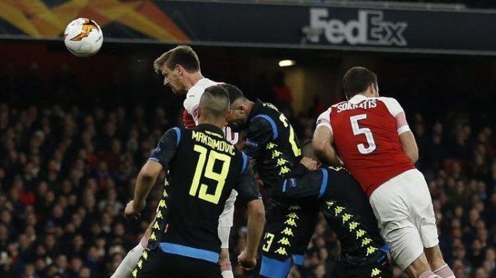 Arsenal dan Chelsea Berhasil Menang di Laga Pertama Perempat Final Liga Europa
