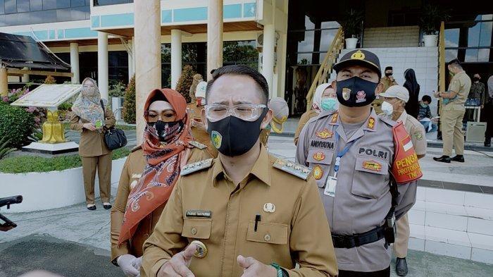 Karhutla di Palangkaraya, Wali Kota Fairid Naparin Minta Optimalkan Sumur Bor Cegah Kebakaran