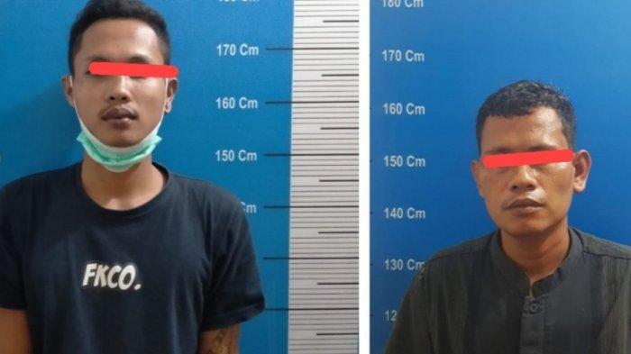 Narkoba Kalteng, Polisi Tangkap Dua Orang Diduga Kurir Sabu Penghuni Barak di Palangkaraya