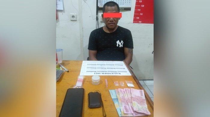 Berulang Kali Terlibat Kasus Narkoba di Kalteng, Pria Ini Tidak Jera Diamankan di Polres Kotim