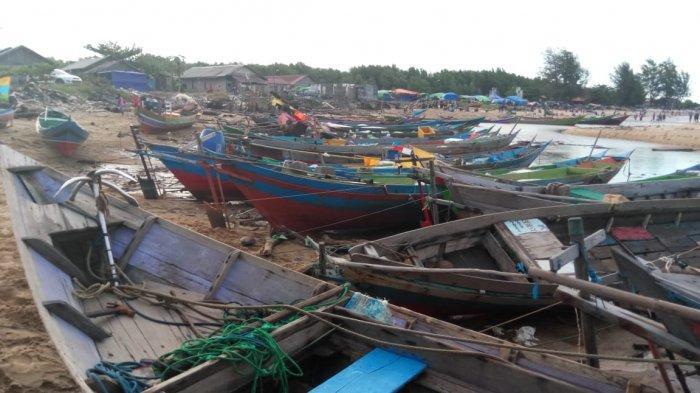 Gelombang Laut Capai Lebih Dua Meter, Nelayan Ujung Pandaran Kotim Kalteng Takut Melaut