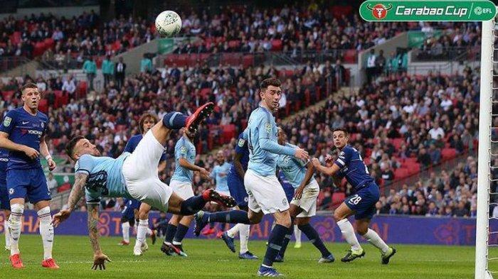 Menang Adu Penalti, Manchester City Raih Piala Liga Inggris Usaikan Kalahkan Chelsea