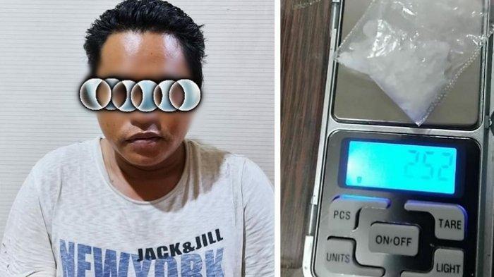 Polisi Amankan Pria Banjarmasin, Kedapatan Simpan Sabu di Kantong Celana