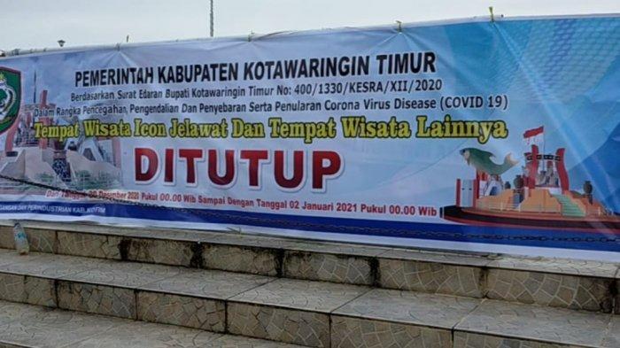 Wisata Patung Ikan Jelawat Sampit Ditutup, Warga Tak Bisa Menikmati Malam Pergantian Tahun