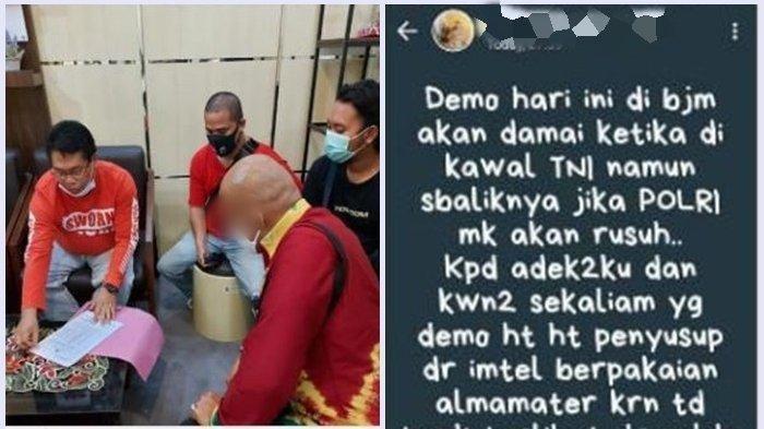 Oknum ASN di Banjarbaru Diamankan Polisi, Diduga Sebarkan Berita Hoax Soal Demo Omnibus Law
