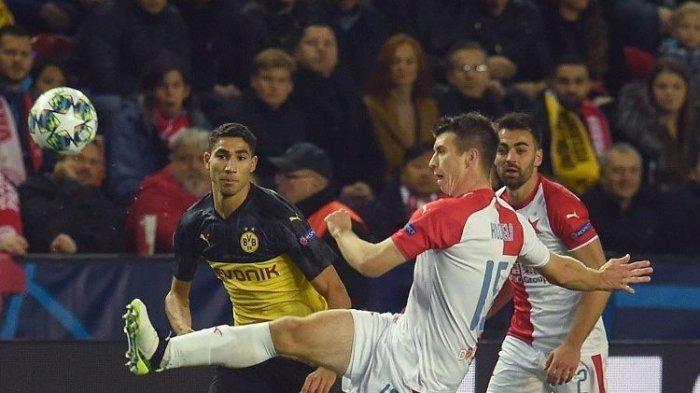 Achraf Hakimi Bawa Kemenangan Borussia Dortmund Hingga ke Puncak Klasemen Grup F Liga Champions