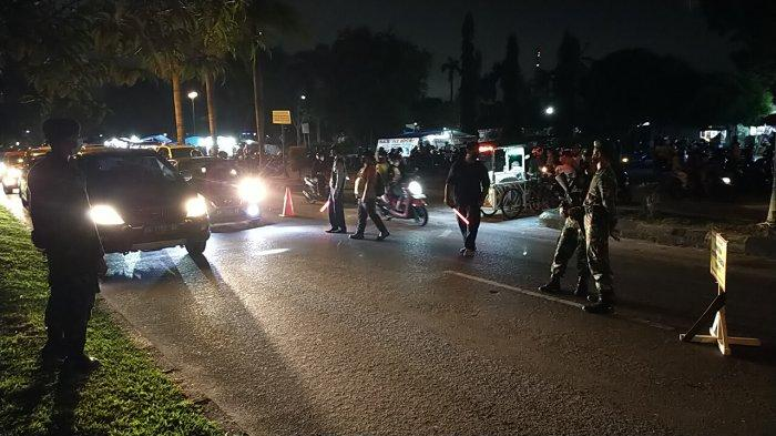 Cegah PeningkatanKasus Covid-19 di Palangkaraya Satgas Covid-19 Patroli di Tempat Rawan Kerumunan