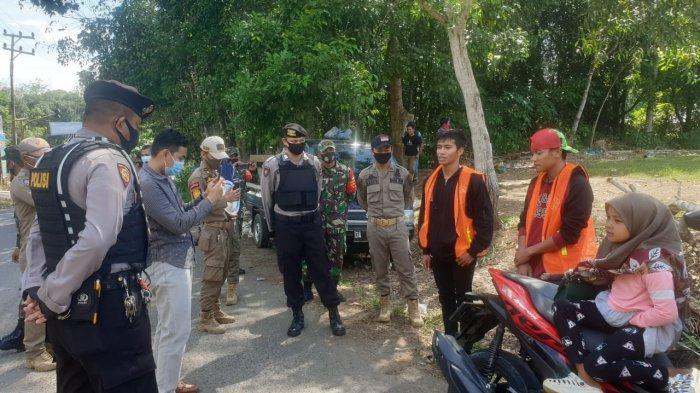 Puluhan Pelanggaran Warga Paringin Selatan Terjaring Operasi Yustisi