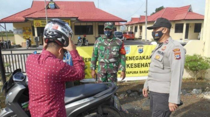 Personel Polsek Martapura Barat Gelar Operasi Yustisi Tiga Kali Sehari