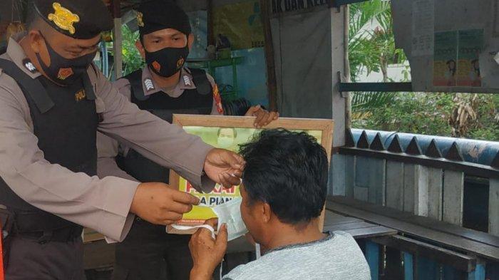 Operasi Yustisi, Polsek Kapuas Timur Beri Teguran Lisan ke Pelanggar Protokol Kesehatan