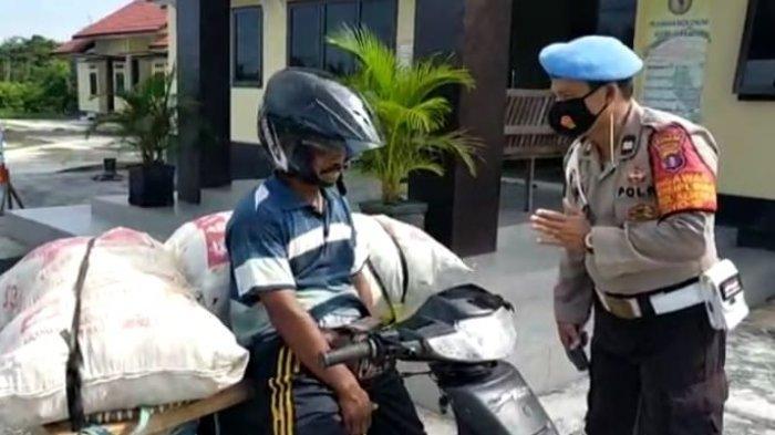 Kapolres Kotim Imbau Warga Taat Prokes, Tim Satgas Penanganan Covid-19 Kotim Gencarkan Razia Masker