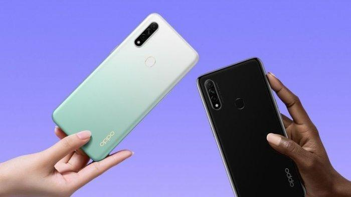 DAFTAR Harga HP Oppo Akhir Agustus 2020, Bocoran Ponsel Baru Oppo A53 yang Usung Snapdragon 460