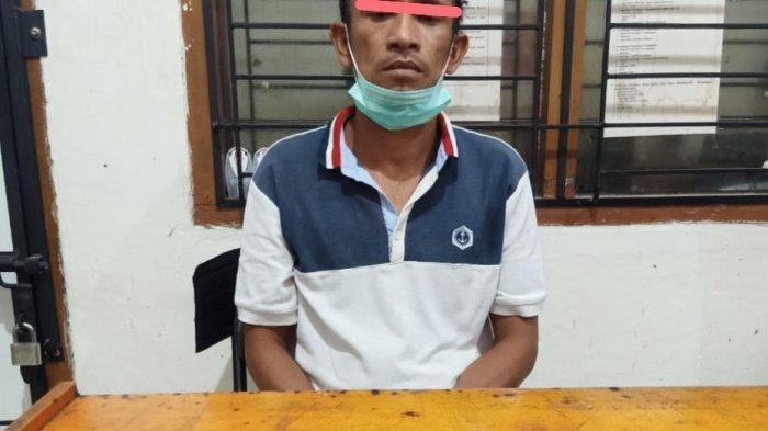 Narkoba Kalteng, Pengedar Narkoba Baamang Sampit Ini Ditangkap Polisi Saat di dalam Kamar